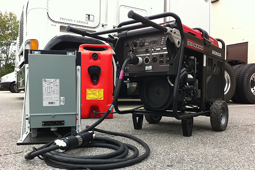 Portable Generators in Motion Picture Production